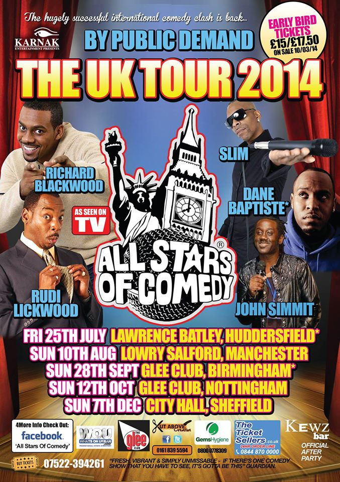 All Stars Of Comedy Real Mcoy Tour